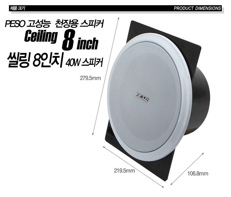실링스피커 cp-810